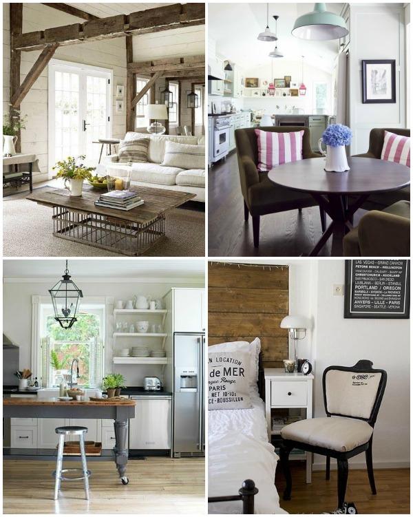 Pinterest Industrial Cottage Rooms via An Oregon Cottage